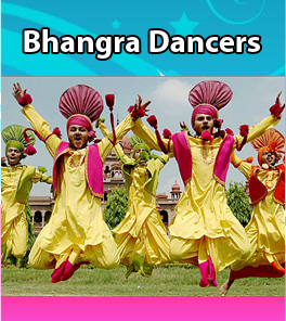 Hire Bhangra Dancers