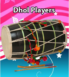 Hire Dhol Player